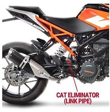 KTM 390 DUKE RC390 2017 LEOVINCE DECAT EXHAUST ELIMINATES CATALYST *IN STOCK