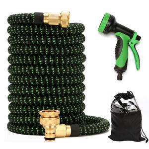 New Expandable Garden Hose Durable Flexible Lightweight Water Hose Spray Gun