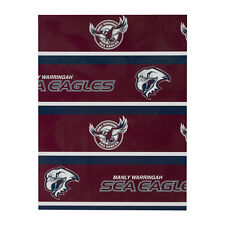 NRL Manly Sea Eagles Birthday Wrap Gift Wrap Paper