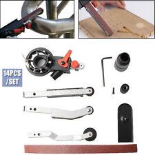 Diy Sander Sanding Belt Adapter For Electric Angle Grinder Withm14 Thread Spindle