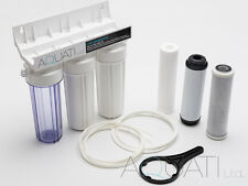 3 Stage HMA Water Purifier Koi Ponds & Dechlorinator Filter System