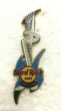 Hard Rock Cafe Barcelona Olympic Torch Guitar Pin
