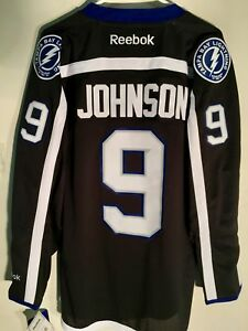 Reebok Premier NHL Jersey Tampa Bay Lightning Tyler Johnson Black sz XL