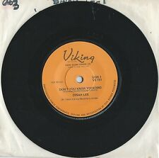 "Dinah Lee     ""Don't You Know Yockomo""   Rare Viking 45 Single Vinyl"