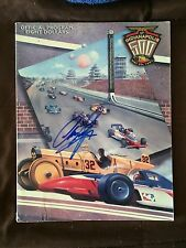 1997 Indy 500 Program Signed By Winner Arie Luyendyk Autographed Indianapolis