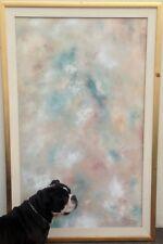 Abstract Oil Painting California PHILLIP JAEGER Signed Modern Original Art LRG