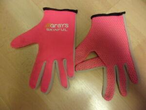 Grays Pink Skinful Hockey Gloves Size XS