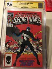 MARVEL COMICS SECRET WARS #8 CGC SS 9.6 NM+ SIGNED x2 ZECK BEATTY