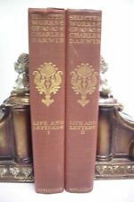1887 LIMITED EDITION Charles Darwin LIFE AND LETTERS *Evolution*Preferred Races