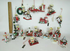 LOT OF 20 KURT ADLER HERSHEY'S CHRISTMAS TREE ORNAMENTS WITH TAGS