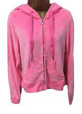 Lipsy Ladies Velour Tracksuit Hoodie Hooded Jacket Top 16 Pink Lounge Hoody Girl