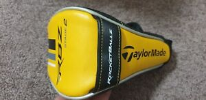 Taylormade Golf Club Fairway RBZ Stage 2 Yellow 3 4 5 Wood Headcovers Head Cover
