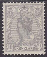 NVPH 081 Kon.Wilhelmina wijde arcering 1922 postfris (MNH)