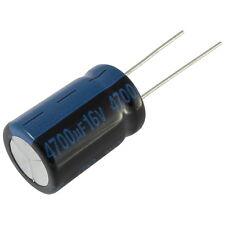 5 Elko Condensatore Radiale JAMICON TK 4700uf 16v 105 ° C 073377