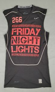 Large Nike Pro Combat Dri-Fit Fitted Mens Sleeveless Athletic Tshirt