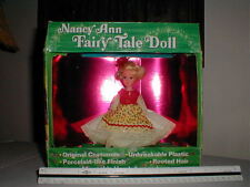 70's Usa Nancy Ann Fairy Tale Doll 712 Curly Locks Org Box Storybook Fashion Vtg