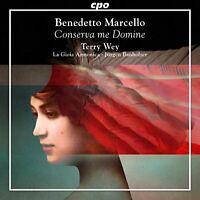 Terry Way - Marcello:Conserva Me Domine [Terry Way; La Gioia; Jurgen [CD]