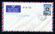Ceylon - 1962 Boy Scouts Jamboree First Day Cover