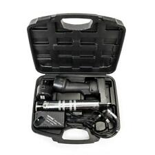 Portable Cordless Rechargeable Grease Gun 2 X 12v Battery Automotive Tool New