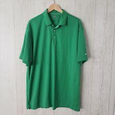 Nike Golf Mens Polo Shirt Size XXL 2XL FITDRY Green