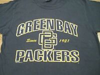 vtg 90s GREEN BAY PACKERS CHAMPION T-Shirt MEDIUM/LARGE football nfl wisconsin