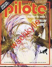 Pilote n°61 de 06/1979 Ayatollah Michel Debré Europe