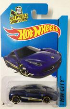 Hot Wheels 2014 035/250 HW City Ferrari 458 Italia Dark Blue MOSC