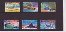 ALDERNEY 2003 HISTORY OF AVIATION STAMP SET MNH SG A204-A209