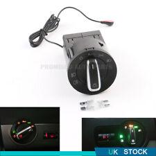 Modified AUTO Headlight Switch with Sensor  For VW Golf /Jetta MK4/Passat B5