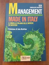 AA.VV 1996 ILSOLE 24 ORE Management Made In Italy