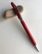 Vintage Scripto Mechanical Pencil Cherry Red Barrel Chrome Trim Edc Working Usa