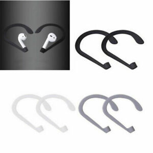 Silicone Anti-Lost Ear Hook Holder for iPhone 7/7 Plus Apple AirPods AirRings