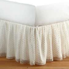 pottery barn emily meritt queen Bedskirt