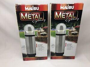 2 Intermatic CL635P Malibu Low Voltage Metal 20W Landscape Pathway Light - NEW!
