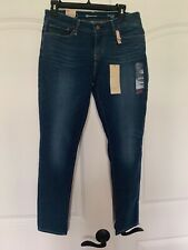 NWT Levi's Women's Demi Curve ID Skinny Modern Rise Stretch Jeans $78 SIZE 28x30