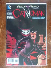 Catwoman 13 2nd Print VF/NM to NM- (New 52) Death of the Family