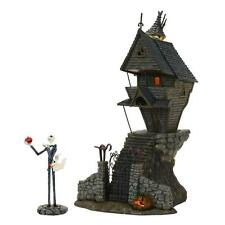 NEW Dept 56 Nightmare Before Christmas Jack Skellington's House Village 4058117