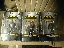 "Batman Missions 6"" RARE BATMAN ELECTRO POWER, Nightwing, and Bane"