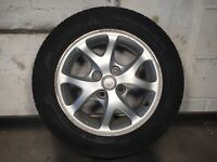 Genuine Toyota Yaris 1617 Set Of Alloy Wheels And Tyres 14 Inch