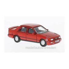 Oxford 218775 Ford Sierra Sapphire Rojo Escala 1:76 Coche a escala NUEVO !°