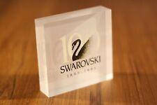 Swarovski Acrylic Dealer Plaque 1895-1995 100 Year Centennial Scdpnr15