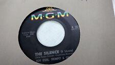 Roy Etzel 45 The Silence/Melancholie MGM 13381 Mod Jazz