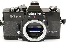 Minolta SR505 - Vintage 35mm SLR Camera Body & Strap - Perfect for a Student!