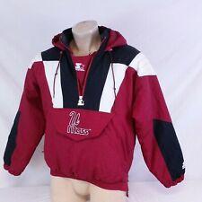 Vintage UMass Starter Pullover Parka Jacket Winter Coat Minutemen NCAA Medium