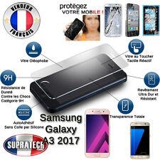 Protection Ecran en Verre Trempé Contre les Chocs pour Samsung Galaxy A3 2017
