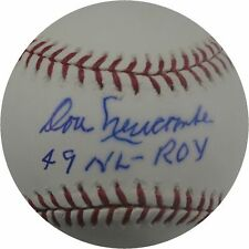 Don Newcombe Autographed MLB Baseball Los Angeles Dodgers 49 NL ROY  Plus COA