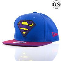 New Era 9FIFTY 'Hero Multi Visor' DC Comics Superman Blue/Red Snapback Cap