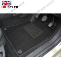 Saab 93 Convertible Tailored Quality Black Carpet Car Mats With Heel Pad 2003-12