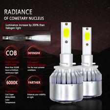 2 x 880 881 H27 200W 20000LM LED Headlight Kit Bulbs 6000K White Car Fog Lights