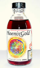 Colloidal Gold ~40ppm 200 ml nano ormus ormes Ruby red memory health brain focus